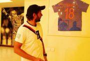Shahid Afridi with Virat Kohli's jersey