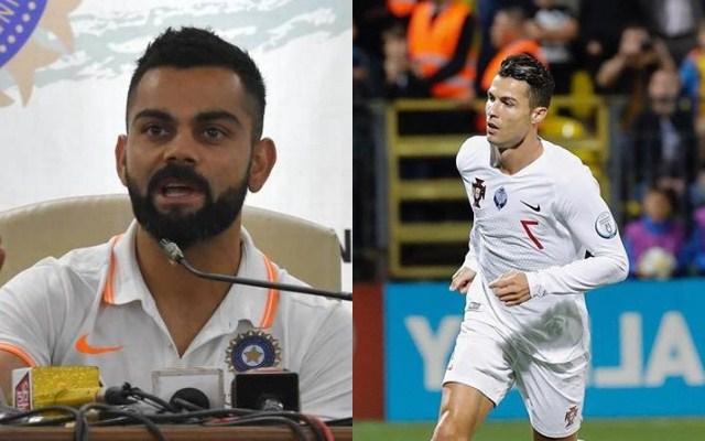 Virat Kohli - Cristiano Ronaldo