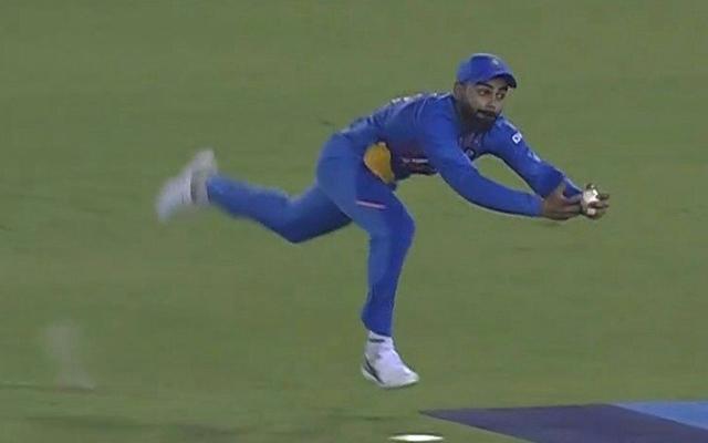 Virat Kohli's catch