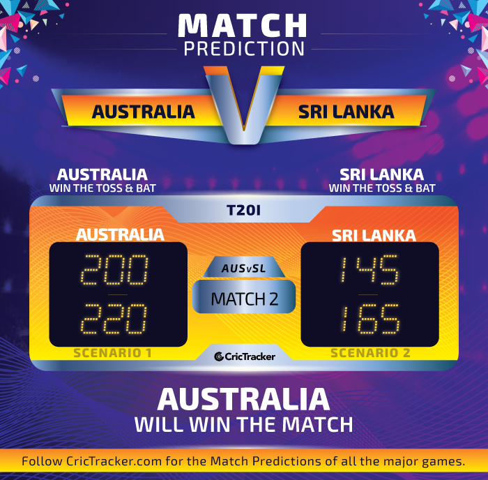 Australia-vs-Sri-Lanka-2nd-T20I-Match-Prediction