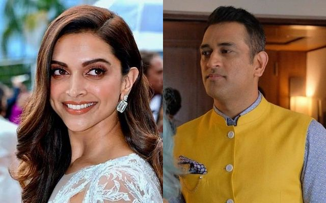 Deepika Padukone and MS Dhoni