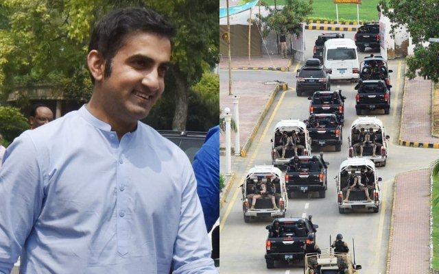 Gautam Gambhir Karachi