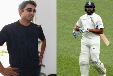 Gautam Gambhir and Rohit Sharma