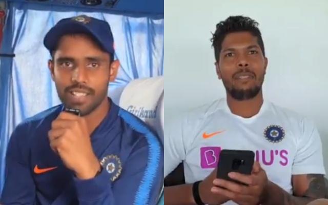 Hanuma Vihari and Umesh Yadav