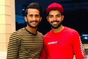 Hasan Ali and Shadab Khan