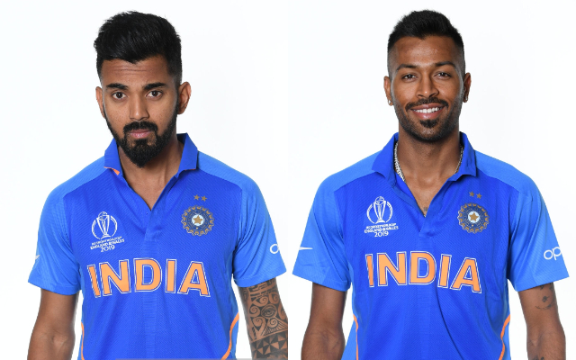 KL Rahul and Hardik Pandya