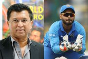Kiran More and Rishabh Pant