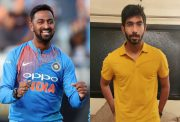 Krunal Pandya and Jasprit Bumrah