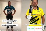 New Zealand and Australia ODI kits