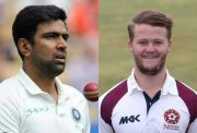 Ravi Ashwin and Ben Duckett. (Photo Source: Twitter)
