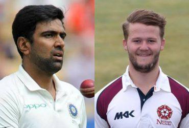 Ravi Ashwin and Ben Duckett. (Photo Source: Twitter)