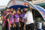 Red Bull Athlete & RBCC Alumni KL Rahul with MMCC Pune