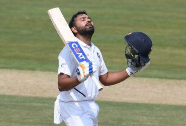 Rohit Sharma Test century