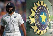 Rohit Sharma and BCCI
