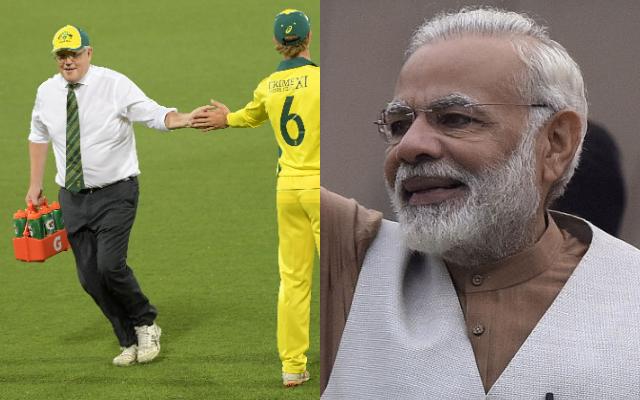 Scott Morrison and Narendra Modi