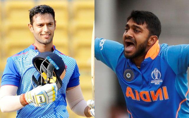 Shivam Dube and Vijay Shankar