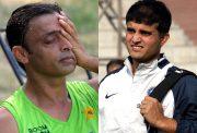 Shoaib Akhtar and Sourav Ganguly