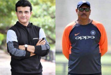 Sourav Ganguly and Ravi Shastri