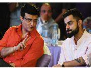 Sourav Ganguly and Virat Kohli Ajinkya Rahane