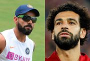 Virat Kohli and Mohamed Salah
