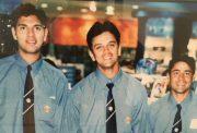 Yuvraj Singh, Rahul Dravid & Vijay Dahiya