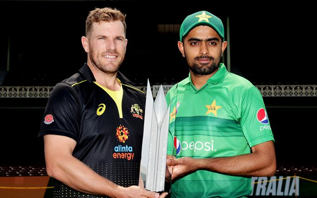 Aaron Finch and Babar Azam