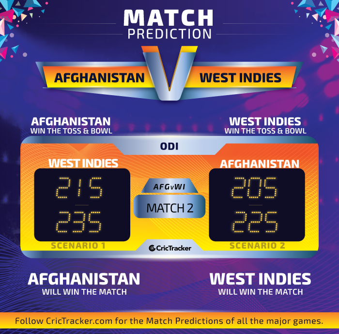 Afghanistan-vs-West-Indies-2nd-ODI-Match-Prediction