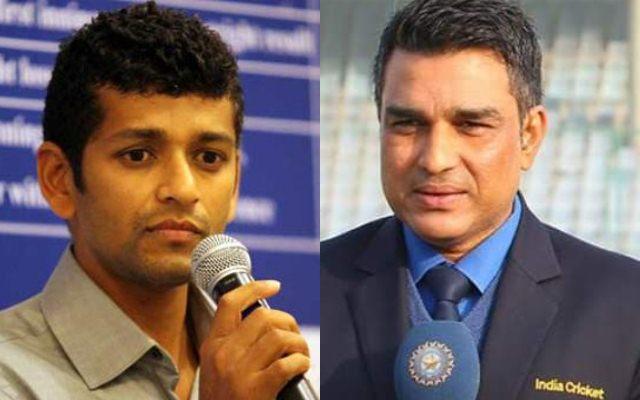 Amol Muzumdar and Sanjay Manjrekar