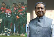 Bangladesh team and Nazmul Hassan Papon
