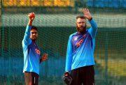 Bangladesh's practice session