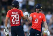 Dawid Malan and Eoin Morgan