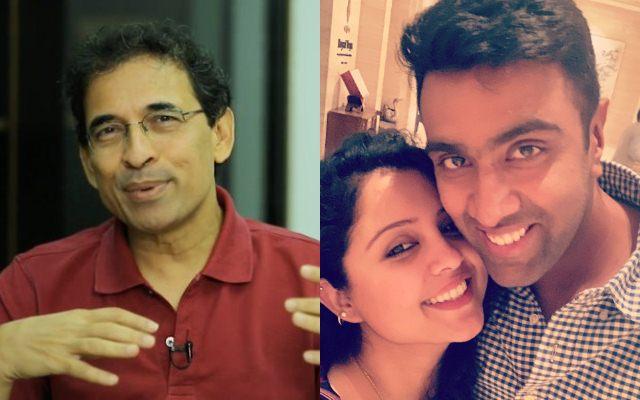 Harsha Bhogle and Ravi Ashwin