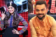 Harshdeep Kaur and Virat Kohli