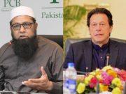 Inzamam-ul-Haq and Imran Khan