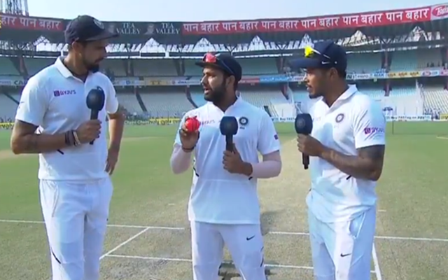Ishant Sharma, Rohit Sharma and Umesh Yadav