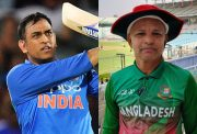 MS Dhoni and Bangladesh fan