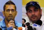 MS Dhoni and Virender Sehwag