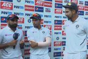 Mohammed Shami, Umesh Yadav and Ishant Sharma