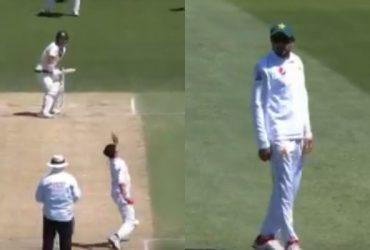 Musa Khan no-ball