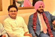 Navjot Singh Sidhu and Faisal Javed Khan