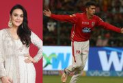 Preity Zinta and Mujeeb ur Rahman