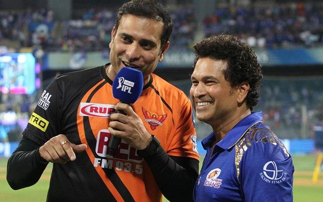 Sachin Tendulkar and VVS Laxman