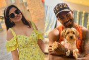 Sakshi and Hardik Pandya