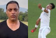 Shoaib Akhtar and Naseem Shah