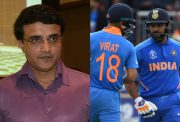 Sourav Ganguly, Virat Kohli and Rohit Sharma