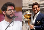 Aaditya Thackeray and Sachin Tendulkar