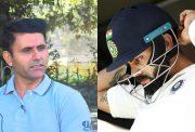 Abdul Razzaq and Virat Kohli