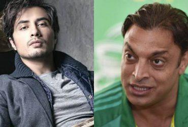 Ali Zafar and Shoaib Akhtar