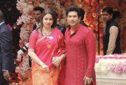 Anjali Tendulkar and Sachin Tendulkar