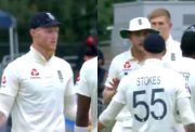 Ben Stokes and Stuart Broad